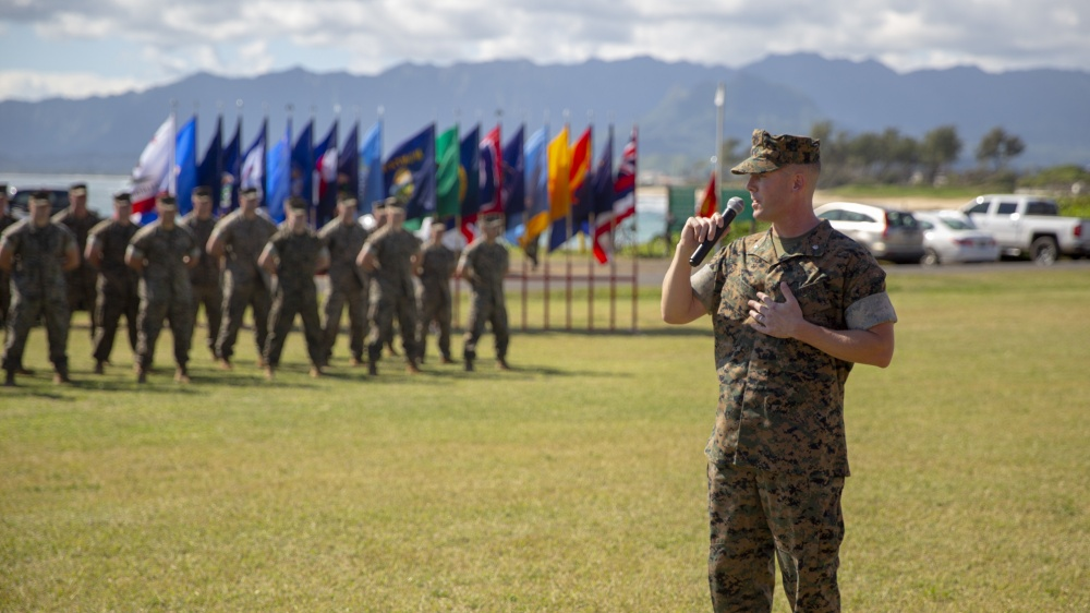 1st Battalion 12th Marines Retirement Ceremony