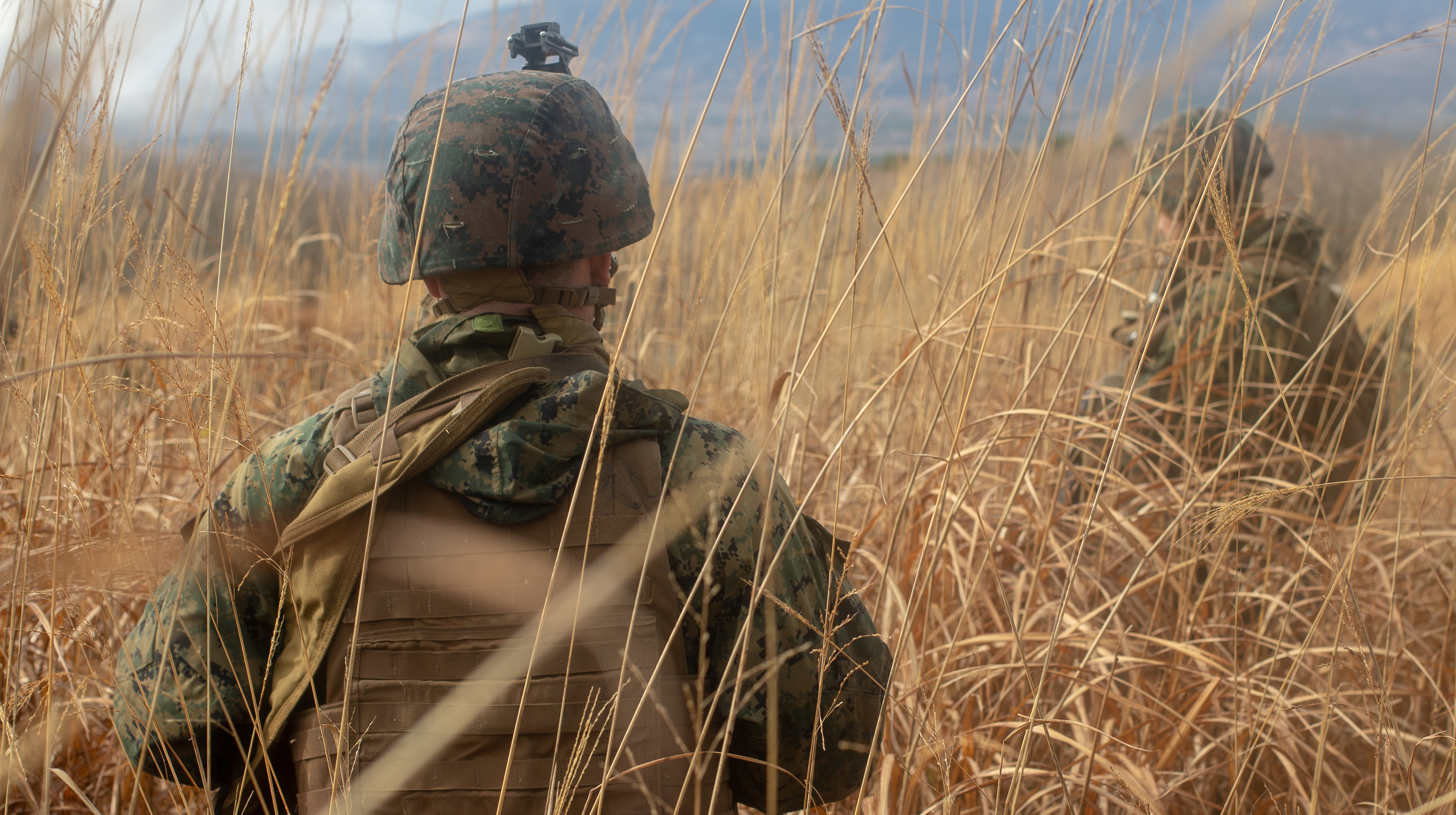 U.S. Marines conduct a battalion force on force event during exercise Fuji Viper 20-2