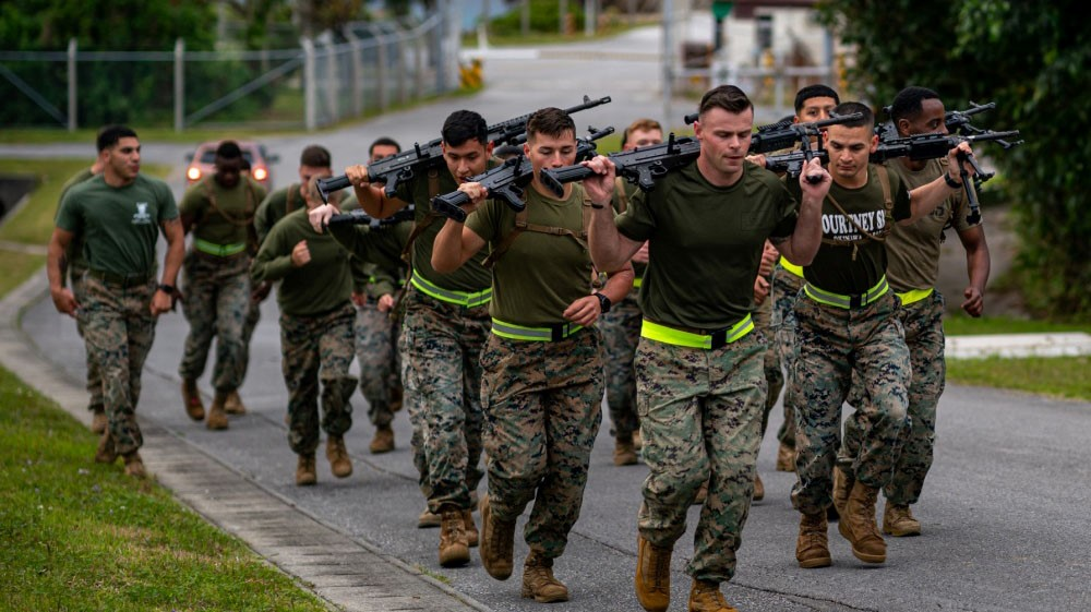 Corporals Course: M240B Run